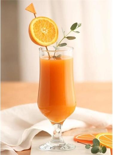 Lav Nev 576 Ayaklı Kokteyl Limonata Bardağı - 12 Li Bira Bardağı Renkli